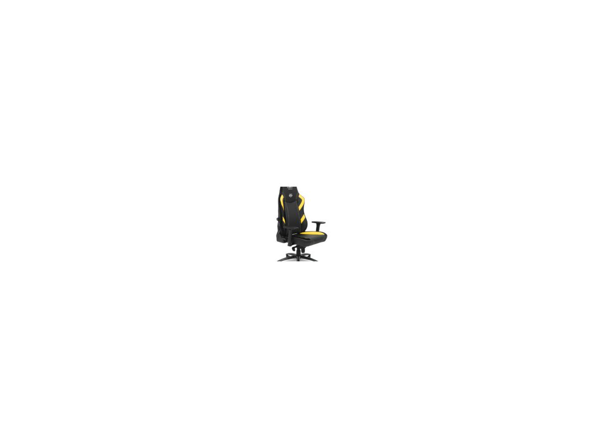 L33T E-Sport Pro Excellence (L) 160442 Gaming Chair Yellow (5706470105089)